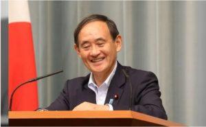 間もなく、菅内閣総理大臣誕生