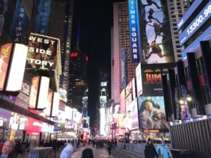 ニューヨーク、ニューヨーク、ニューヨーク